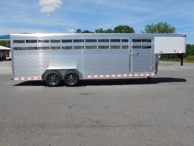 2016 Sundowner Trailers GN 24ft Rancher Stock / Stock Combo Trailer
