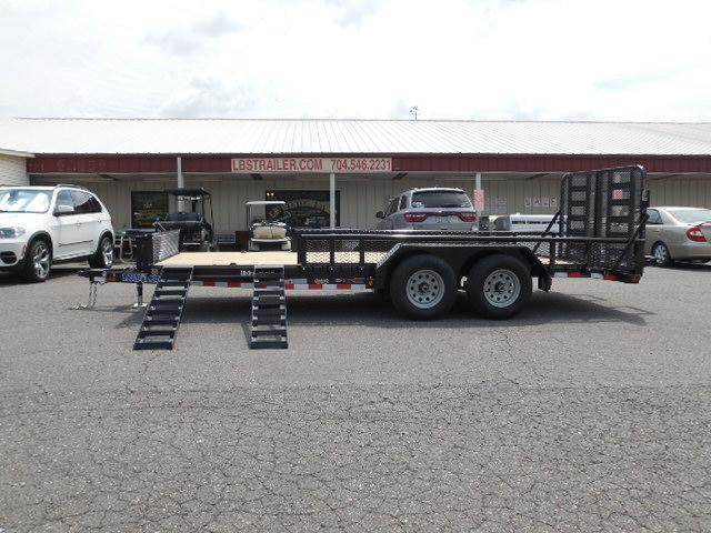 2017 Load Trail BP 83 x 18 TA Equipment Trailer