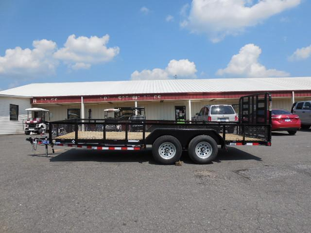 2016 Load Trail BP 83 x 18 TA Equipment Trailer