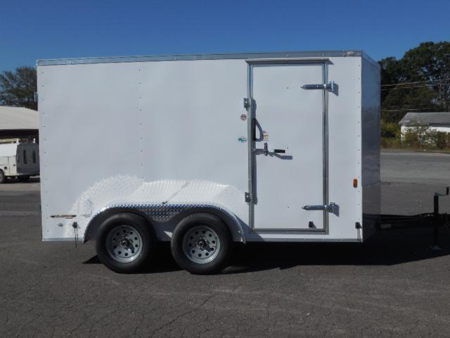2017 Continental Cargo 7 x 12 Enclosed Cargo Trailer