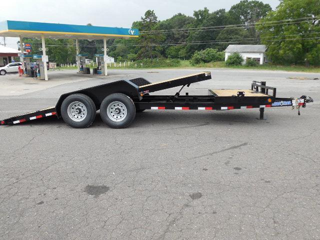 2016 Load Trail BP 81.5 x 20 Tilt Deck Equipment Trailer