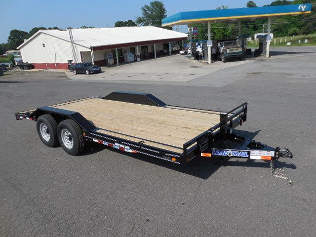 2017 Load Trail BP 102 x 18 TA Equipment Trailer