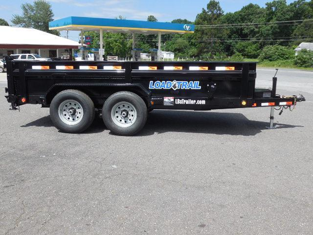 2017 Load Trail BP 83 X 14 Low Pro Dump Trailer