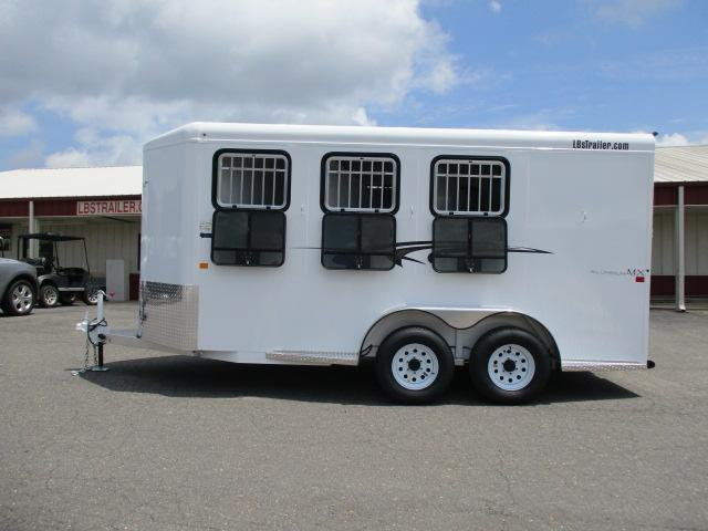 2019 Trails West Manufacturing 3H Adventure MX III Horse Trailer