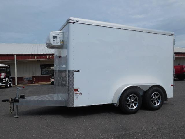 2015 Sundowner Trailers 12ft Refrigerator Unit Cargo / Enclosed Trailer