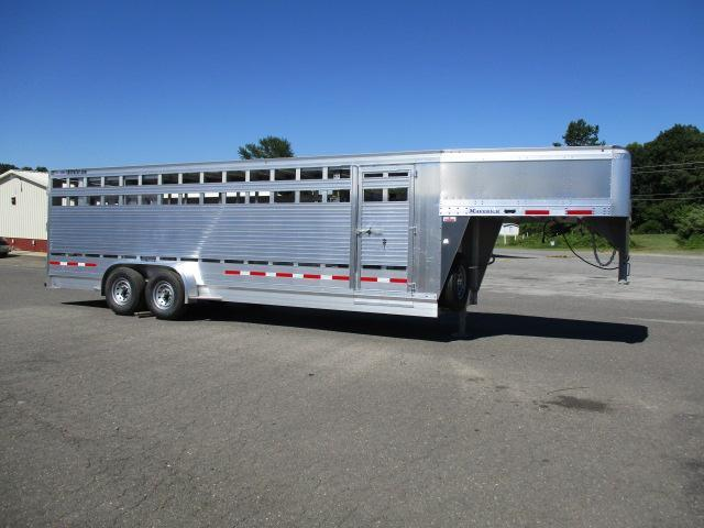 2019 Eby Trailers GN 24ft Maverick Livestock Trailer