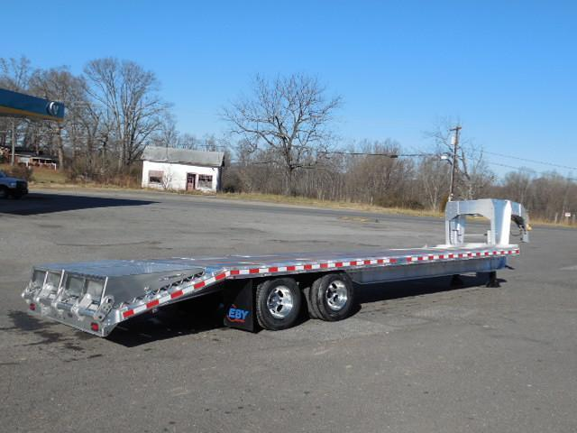 2015 Eby Trailers GN 30ft Flatbed Trailer
