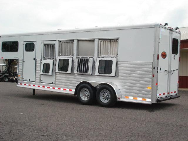 Clearance 2014 Sundowner Trailers GN 4H Rancher Sport Horse Trailer