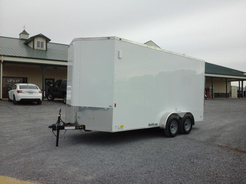 2018 Forest River Inc. 7x16 TA Continental Cargo Trailer