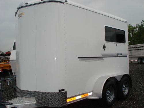 Clearance 2008 Shadow Trailers 2H Straight Load Horse Trailer