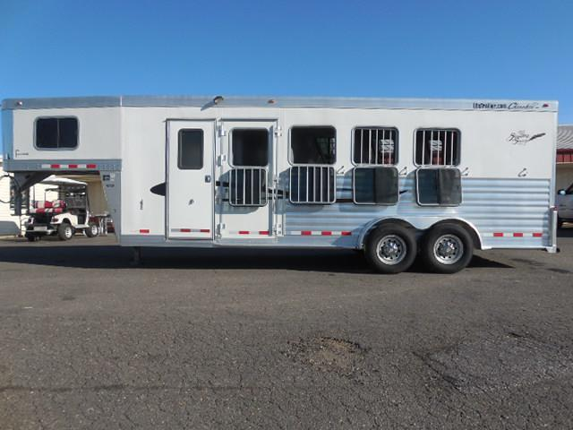 2012 Cherokee Trailers GN 4H SL Tomahawk Horse Trailer