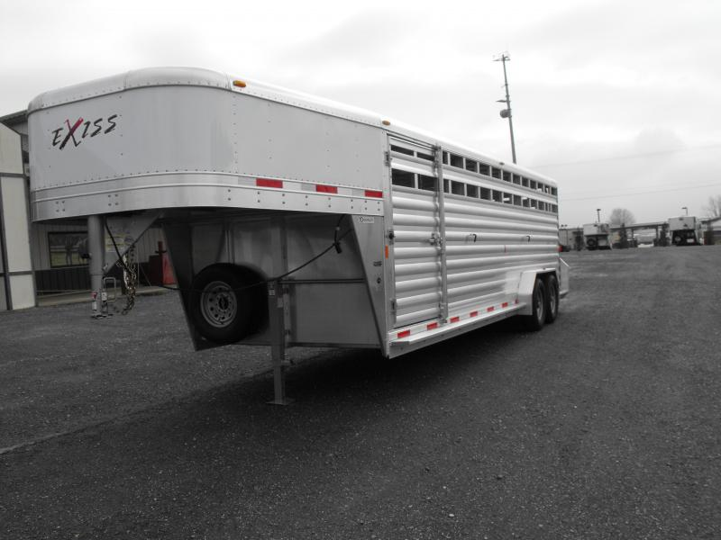 Clearance 2015 Exiss Stock 624 Horse Trailer