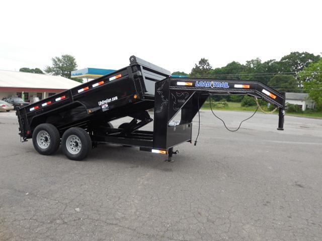 2017 Load Trail GN 83 x 12 Low Pro Dump Trailer