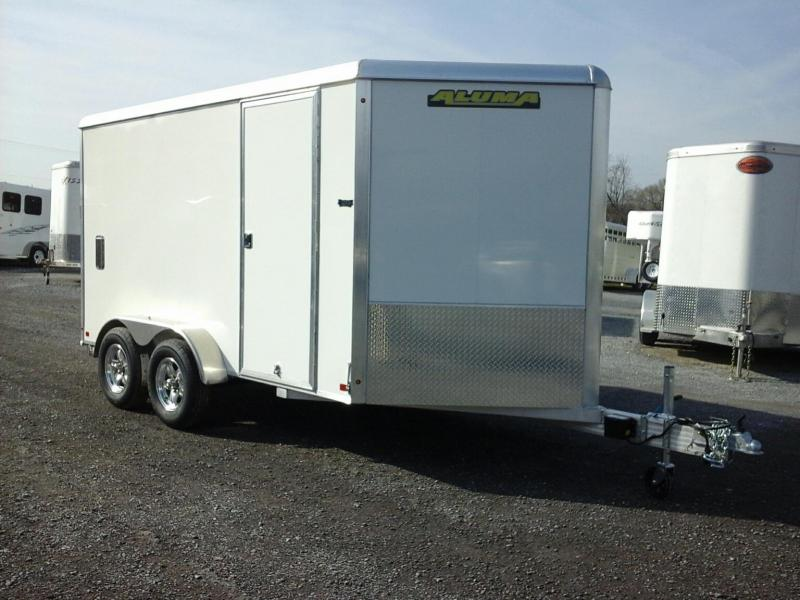 2020 Aluma 7x12 TA Enclosed Cargo Trailer