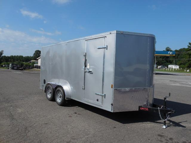 2018 Continental Cargo BP 7 x 16 Enclosed Cargo Trailer