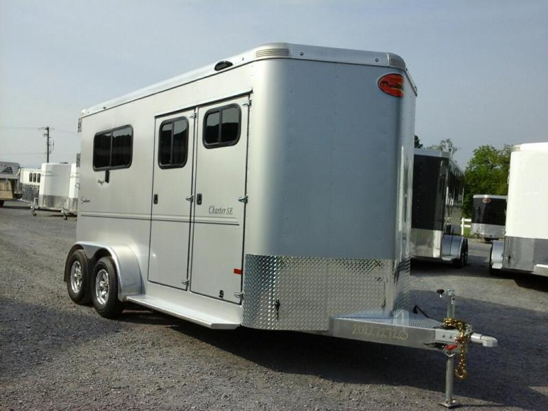 2020 Sundowner Trailers Charter 2H BP TR SE Horse Trailer