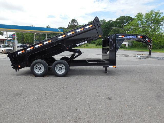 2017 Load Trail GN 83 x 14 Low Pro Dump Trailer