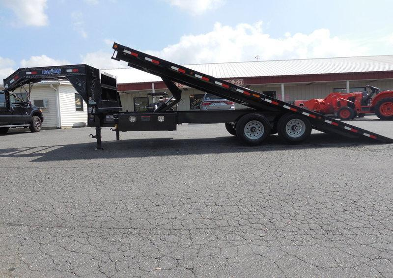 2017 Load Trail GN 102 x 22 Tilt Deck Equipment Trailer