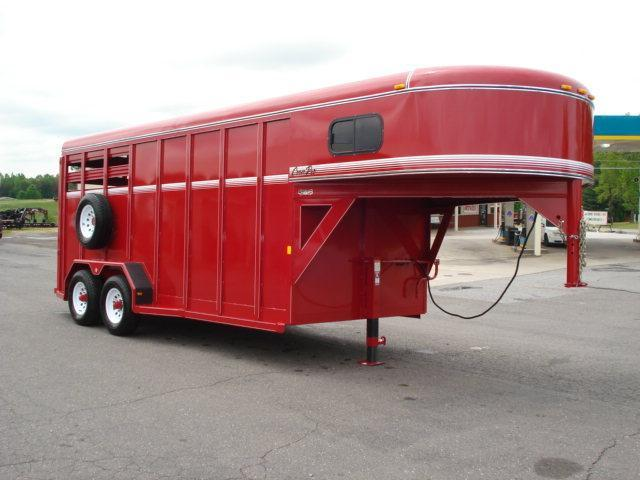 2012 CornPro Trailers GN 16ft w/Dress Stock / Stock Combo Trailer