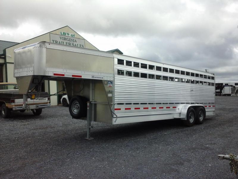 2019 Eby Trailers 24ft Maverick Freedom Plus Livestock Trailer