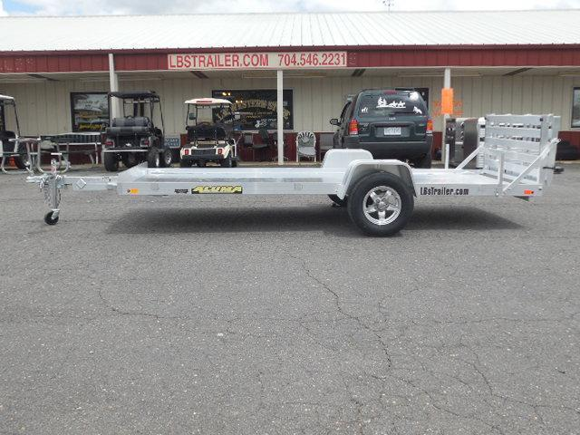 2018 Aluma BP 6314H BT Utility Trailer