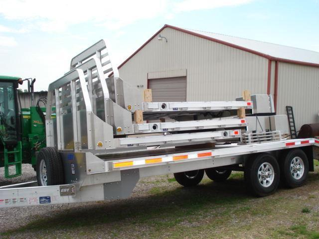 2015 Eby Trailers 9 Flatbed Trailer