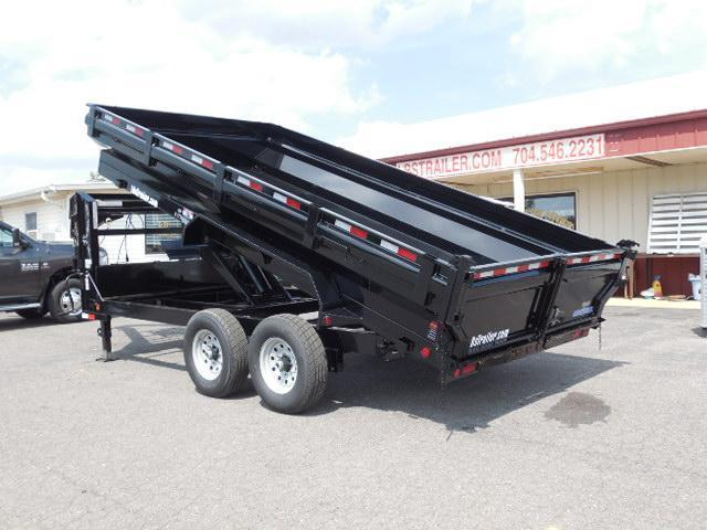 2017 Load Trail GN 83 x 16 TA Dump Trailer