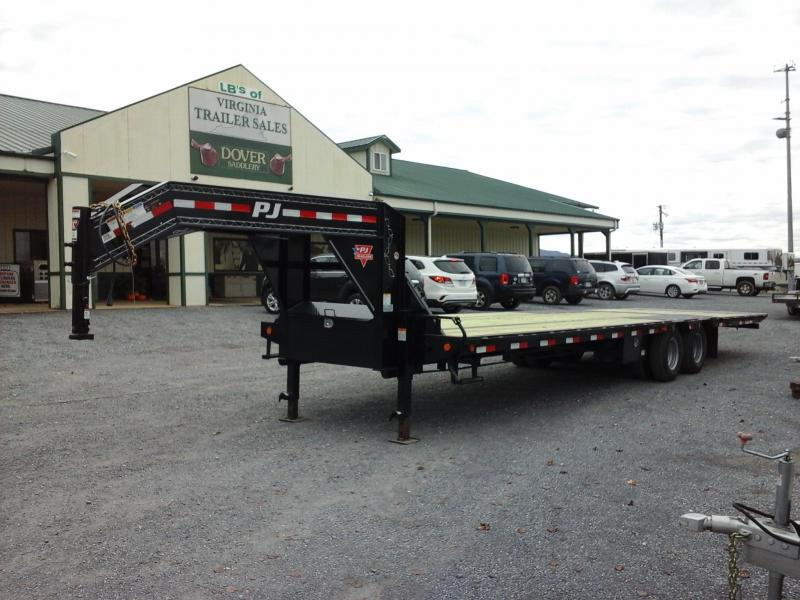2019 PJ Trailers 32ft Low Pro with Hyd Dove Equipment Trailer