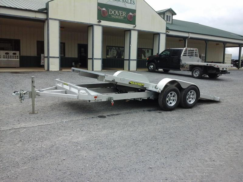 2018 Aluma BP 8216H TILT Motorcycle Trailer