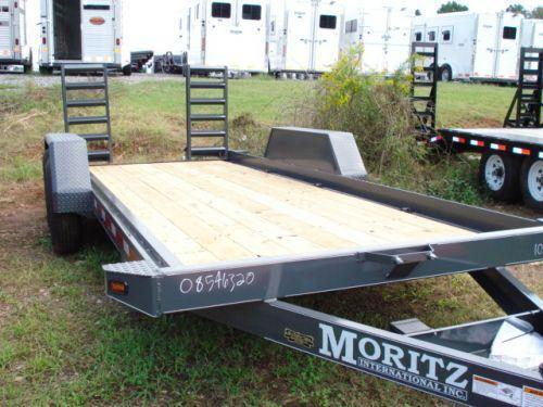 2008 Moritz International BP 18ft Equipment Trailers