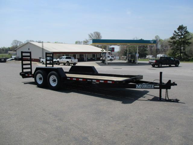 2009 Moritz International BP 18ft Equipment Trailers
