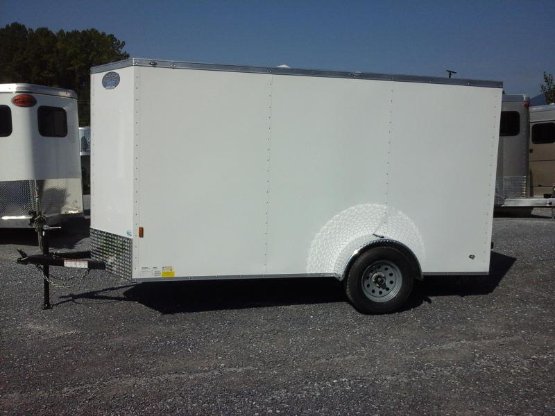 2017 Continental Cargo BP 6 X 12 Enclosed Cargo Trailer