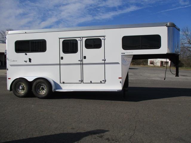 2014 Sundowner Trailers 2H Charter TRSE Horse Trailer