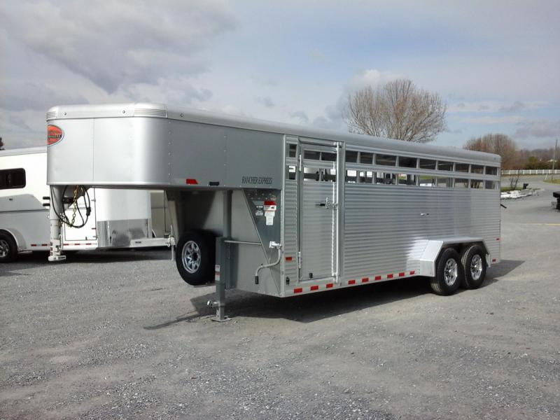 2018 Sundowner Trailers 20ft Rancher XP Livestock Trailer