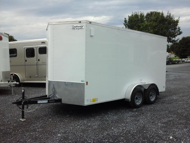 2019 Continental Cargo 7x14 TA Enclosed Cargo Trailer