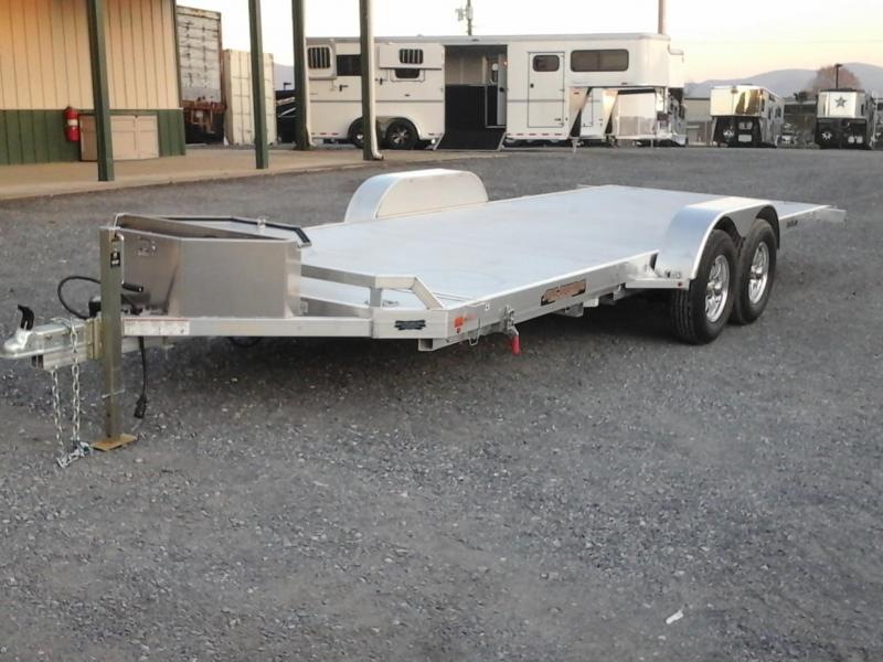 2017 Aluma 8220HTILT Equipment Trailer
