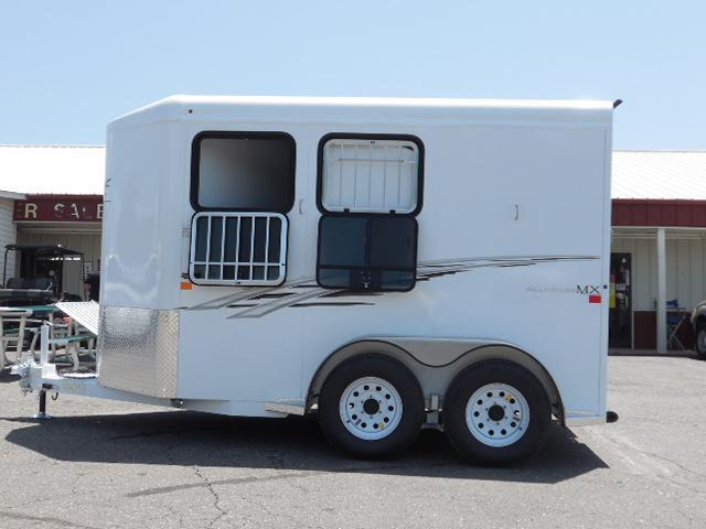 2016 Trails West Manufacturing 2H Adventure MX II Horse Trailer