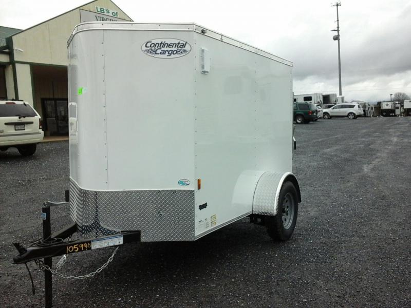 2019 58SA Continental Cargo Enclosed Cargo Trailer