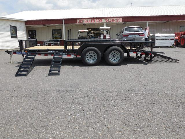 2017 Load Trail BP 83 x 16 TA Equipment Trailer