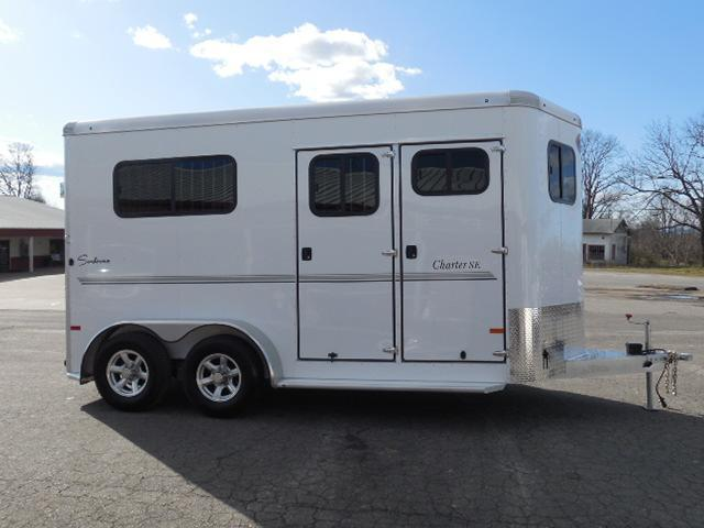 2016 Sundowner Trailers BP 2H Charter TRSE Straight Horse Trailer