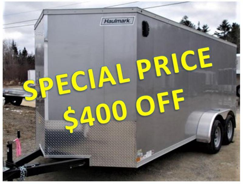 2019 Haulmark New 2019 Haulmark V-Series 7x16 Enclosed Cargo Trailer