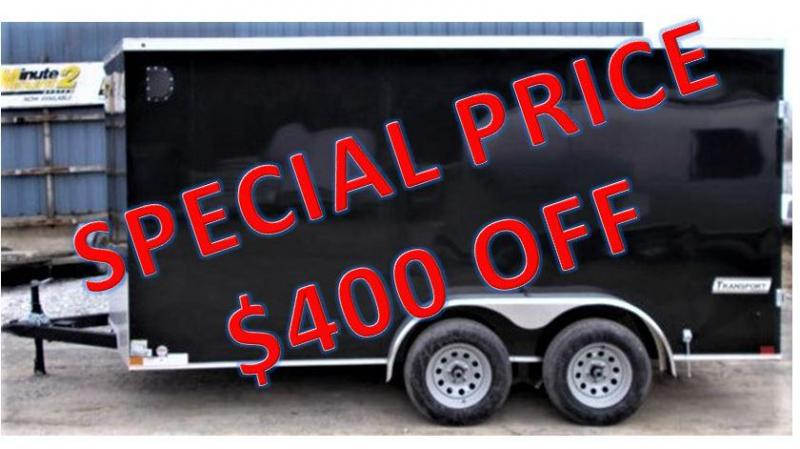 2019 Haulmark New 2019 Haulmark Transport 7x14 Enclosed Cargo Trailer