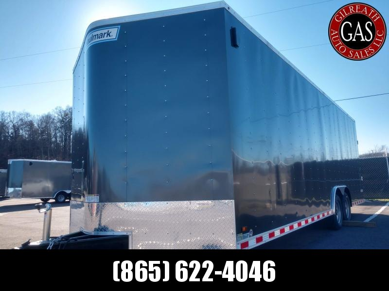 PP8524T2-D 8.5x24x7 Passport Deluxe Enclosed Car Hauler