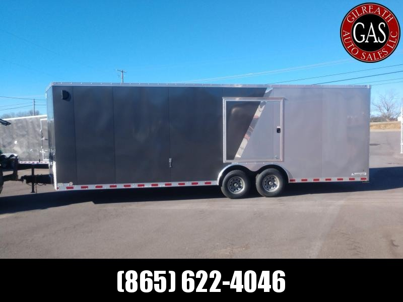 Haulmark TSV8524T3 8.5x24x7 Transport Enclosed Car Hauler, UTV, Motorcycle, or Golf Cart Trailer