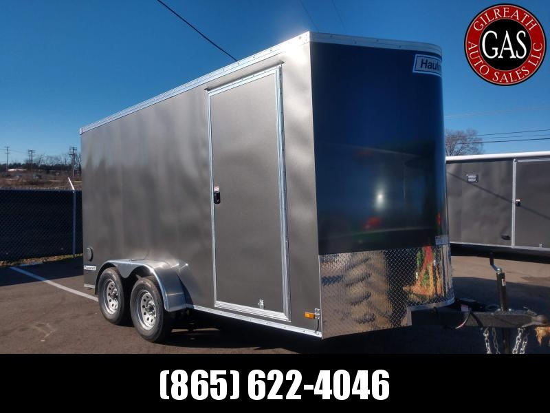 Haulmark TSV714T2 7x14x7 Transport Enclosed Tandem UTV, Motorcycle, or Golf Cart Trailer