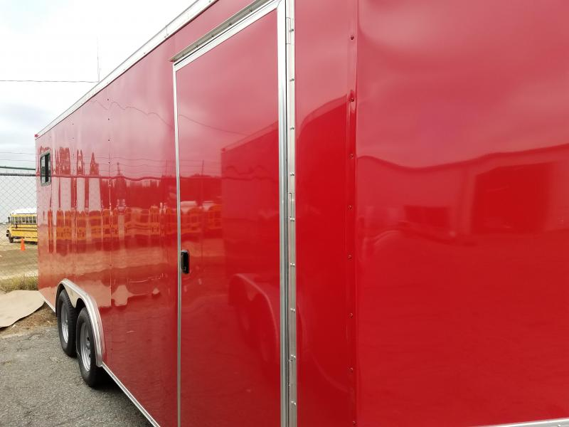 2017 Grizzly Trailers (8.5 x 20) TA2 Enclosed Cargo Trailer