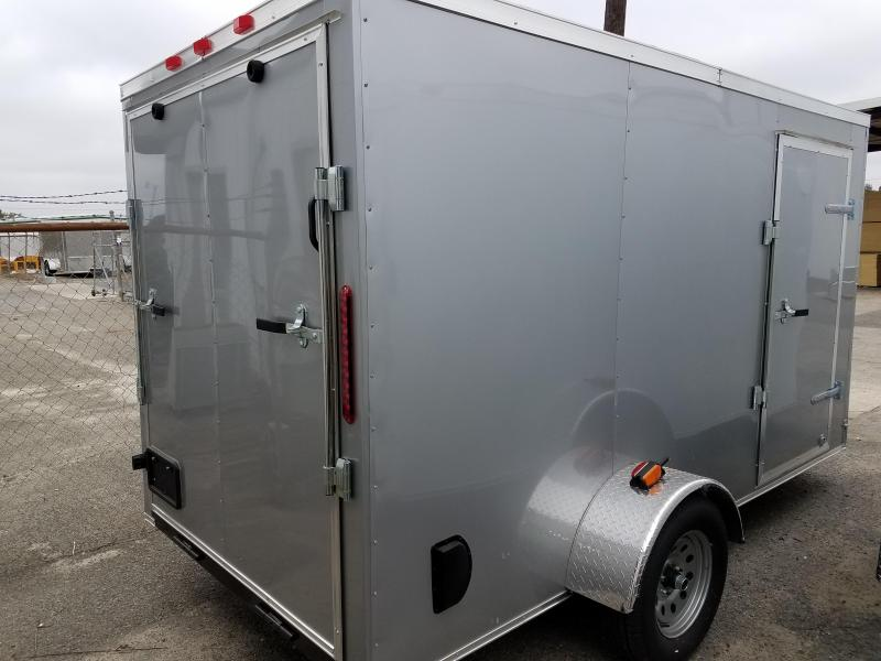 2017 Grizzly Trailers (6 x 12) SA Enclosed Cargo Trailer