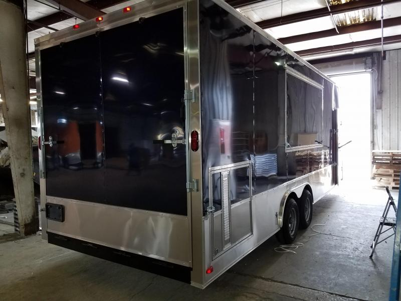 2017 Grizzly Trailers (8.5 x 24 TA3) Enclosed Cargo Trailer