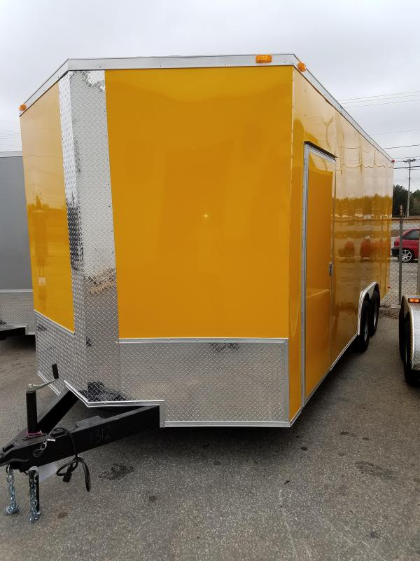 2017 Grizzly Trailer 8.5 x 20 TA3 Toy Hauler