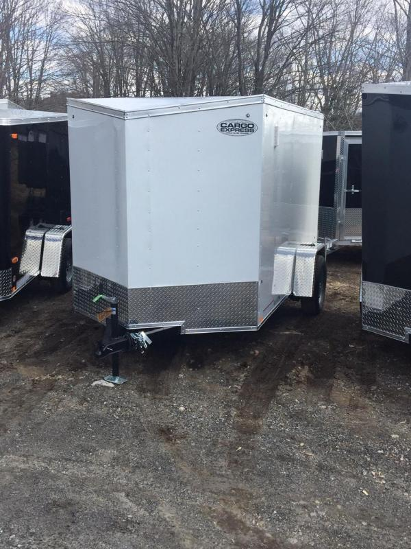 2020 Cargo Express EX6x10S12DLX Enclosed Cargo Trailer